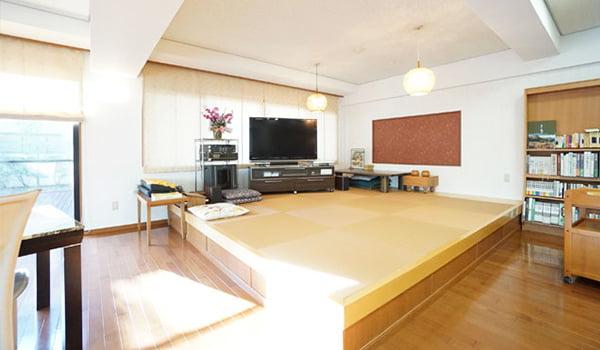 モダンな和室スペース