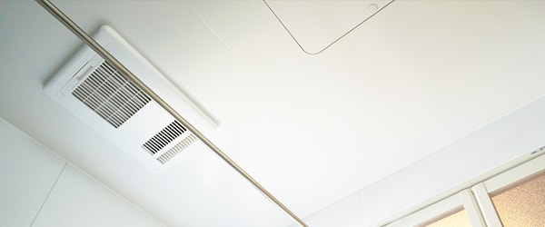 浴室の空調装置