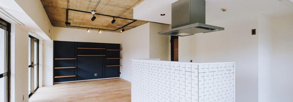 モダンとレトロが融合したマンションデザイン